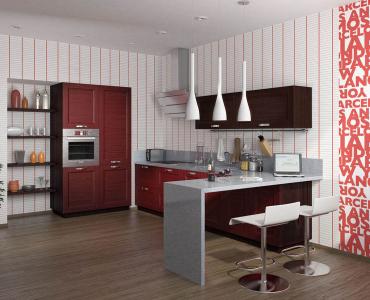 купить кухонные гарнитуры с барной стойкой недорого в москве